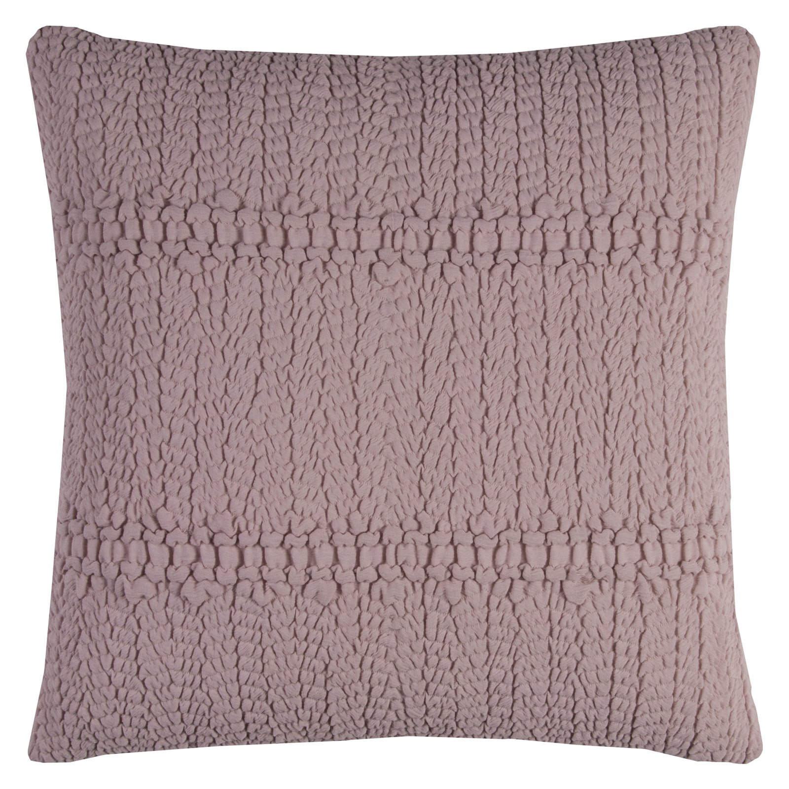 "Rizzy Home SHEERED TEXTURAL TECHNIQUE20"" x 20""Cottondecorative filled pillow"