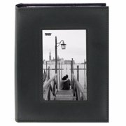 Pioneer FRM-246 Sewn Frame Photo Album (Black 2-Pack)