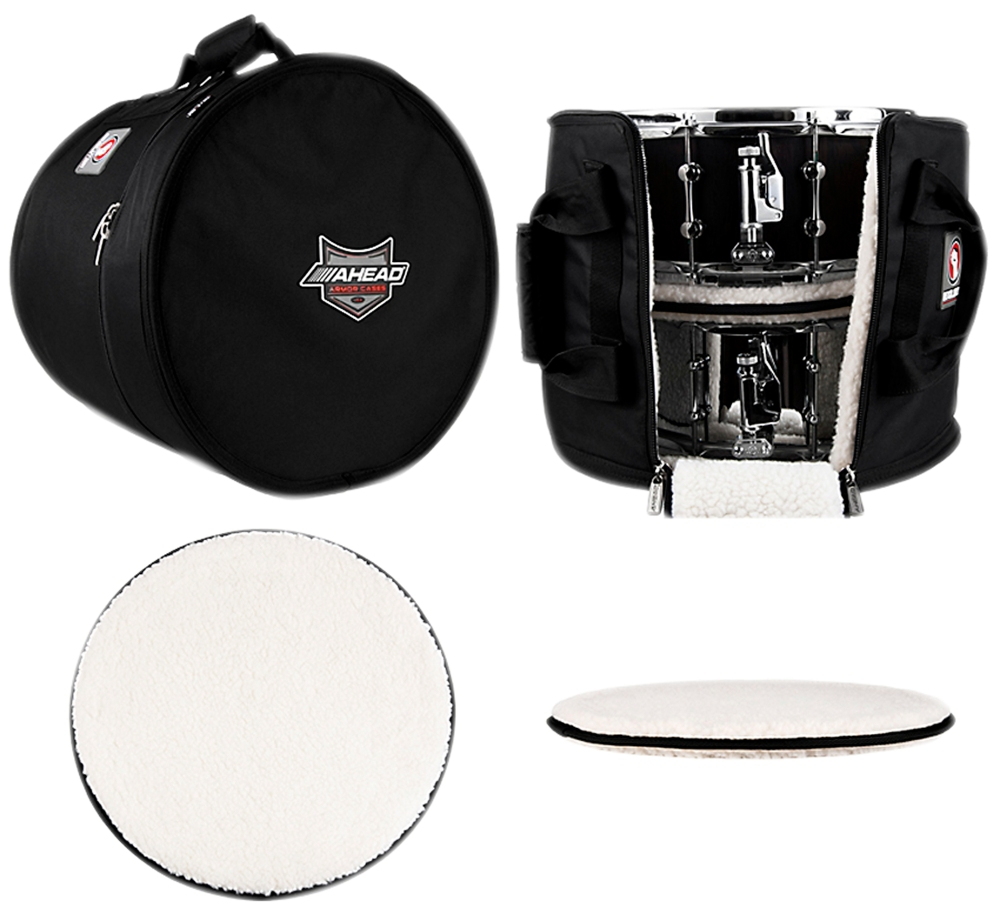 Ahead Multi Snare Case with 2 Stackers 16 x 14 in.