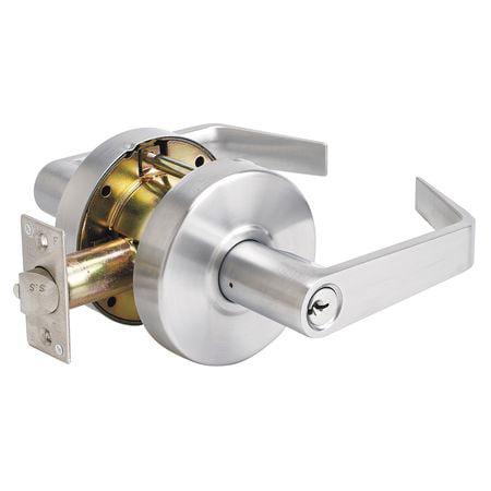 Lever Lockset,Mechanical,SLC Angled MASTER LOCK SLCHCR26D