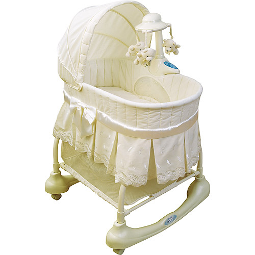 Kolcraft - Cuddle 'n Care Rocking Bassinet