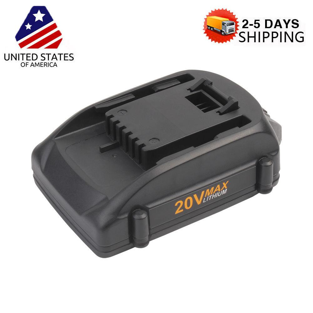 New Replacement Worx 20V WA3525 WA3520 Battery WG160 WG163 Grass Trimmer   Edge by