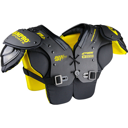 Champro Youth ShockWave Pro Football Shoulder Pads ()