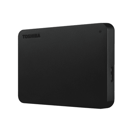 Toshiba Canvio Basics 1TB Portable External Hard Drive USB 3.0 Black -
