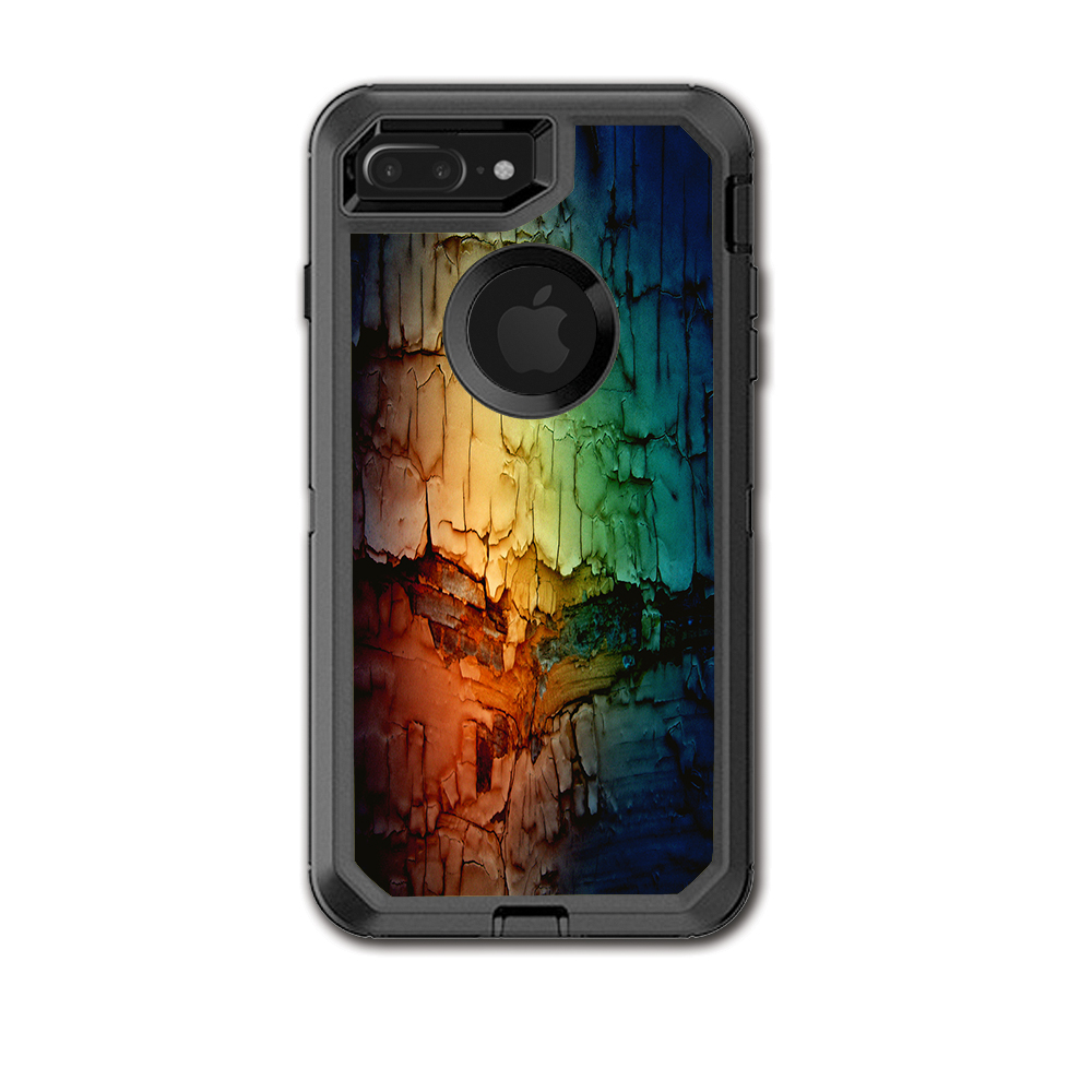 Skin Decal For Otterbox Defender Iphone 7 Plus Or Iphone 8 Plus Case / Multicolor Rock