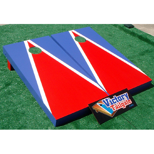 Victory Tailgate Matching Triangle Cornhole Bean Bag Toss Game
