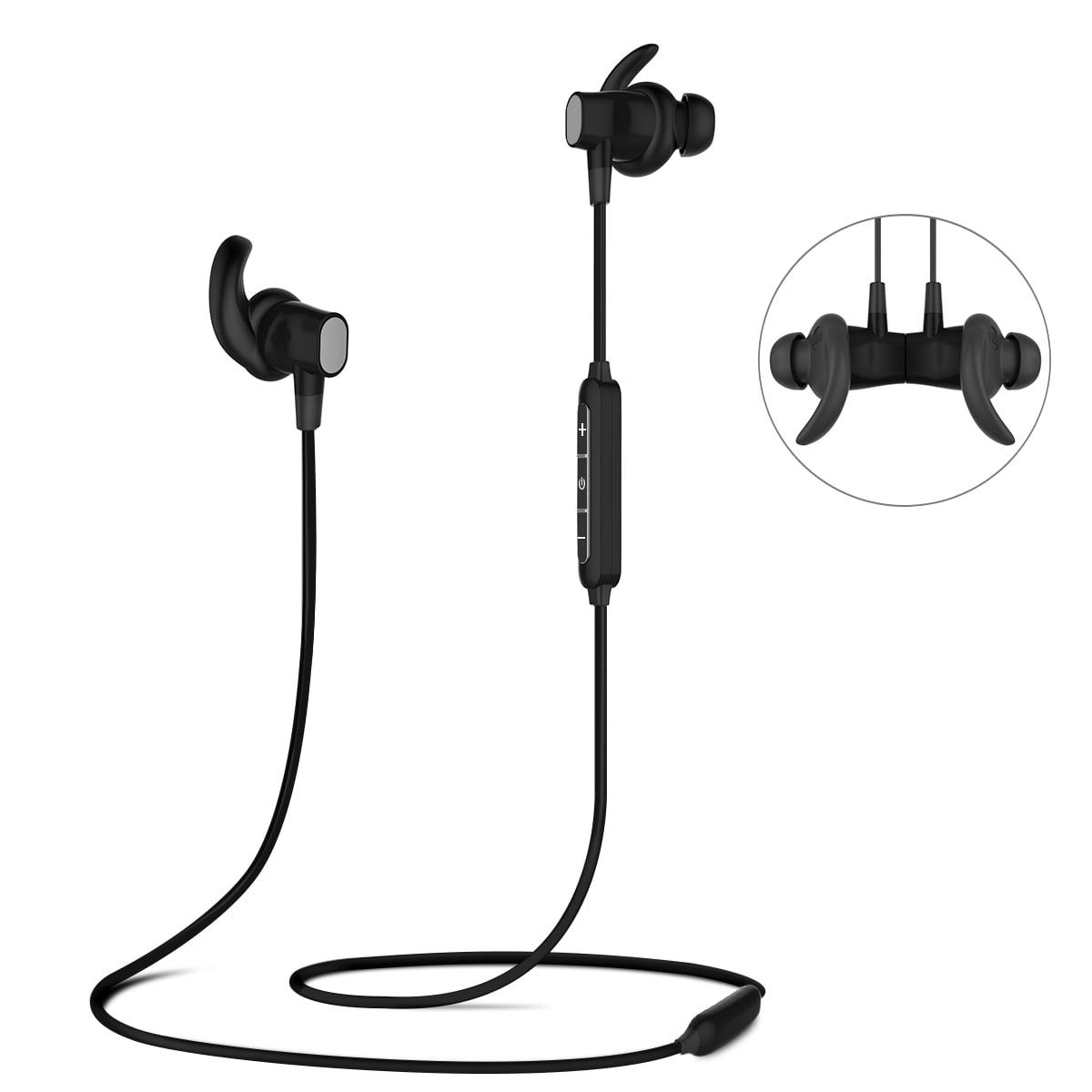 ELE bluetooth Stereo Earphone Headset Wireless Magnetic In-Ear Earbuds Headphone