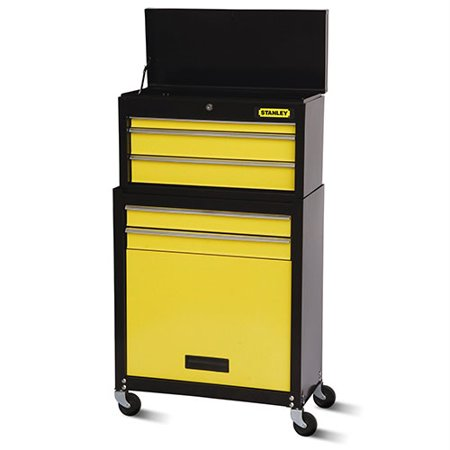 Stanley 5 Drawer Rolling Tool Chest And Cabinet