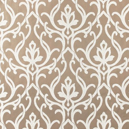 York Wallcoverings Candice Olson Shimmering Details Dazzled 27 X Damask Wallpaper