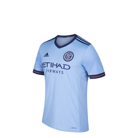 new style ebb4c b67c4 Youth New York City FC Soccer Jersey Adidas Home Replica Jersey