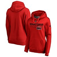 Ottawa Senators Fanatics Branded Women's Authentic Pro Rinkside Prime Pullover Hoodie - Red