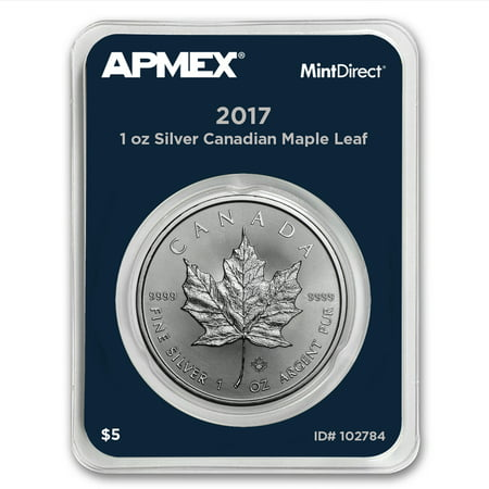2017 Canada 1 oz Silver Maple Leaf (MintDirect® (Best Price Silver Maple Leaf Coins)