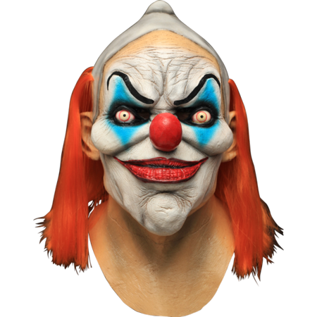 Dexter Clown Evil Overhead Latex Costume Mask Mens Halloween Party Scary Horror