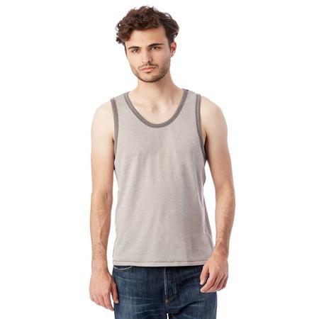 Alternative Men Men Keeper Vintage Jersey Ringer Tank Top Blue Kids Ringer T-shirt