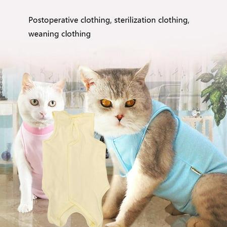 Cat Sterilization Service Postoperative Anti-bite Anti-add Four Feet Clothes - image 3 of 7