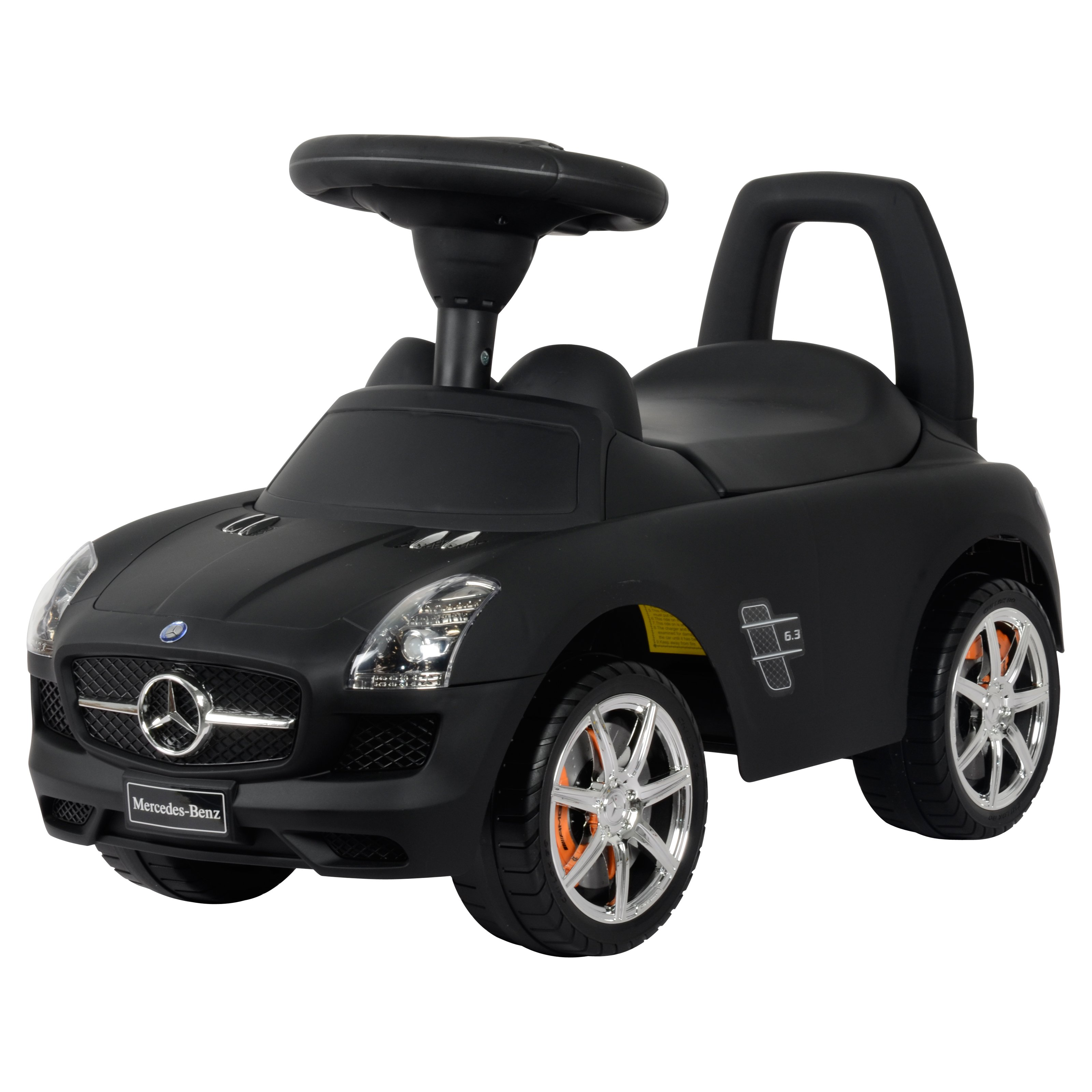 Best Ride on Cars Mercedes Benz Push Car Matte, Black