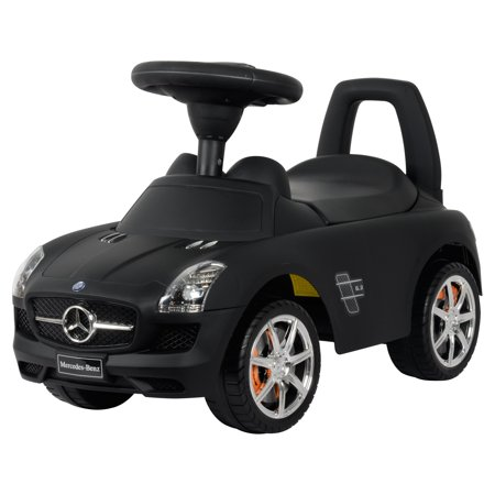 Best ride on cars mercedes benz car riding push toy for Mercedes benz toy car ride on