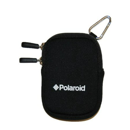 Ultra Compact Camera Bag (Polaroid Neoprene Cushioned Ultra Compact Camera Pouch (Compatible With Polaroid i1237, i1036, i1437, t1031, t1455, t1242, t1255, t1234 and all other compact cameras))