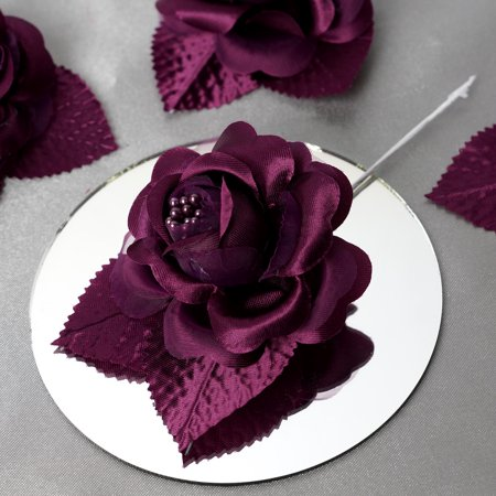 BalsaCircle 12 Open Roses Craft Flowers for $<!---->