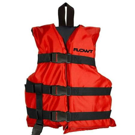 Flowt 40202-2-CLD Child Multi Purpose Vest, Red - image 1 de 1
