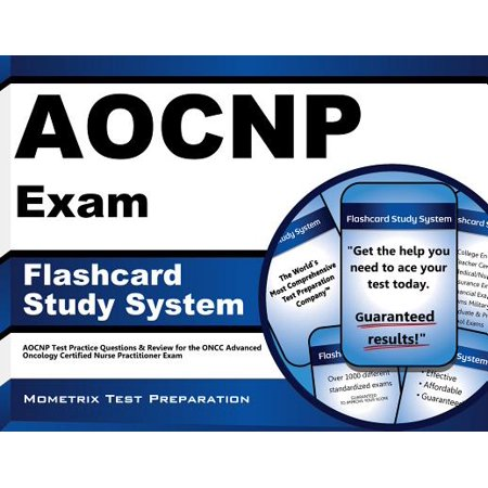 AOCNP Exam Flashcard Study System: AOCNP Test Practice Questions & Review for the ONCC Advanced Oncology Certified Nurse Practitioner