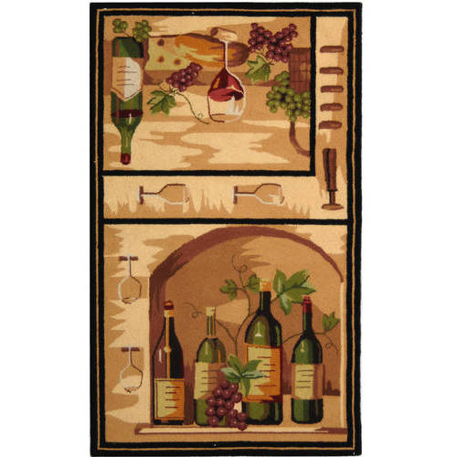 Safavieh Chelsea Tuscany Wine Lovers Area Rug or Runner