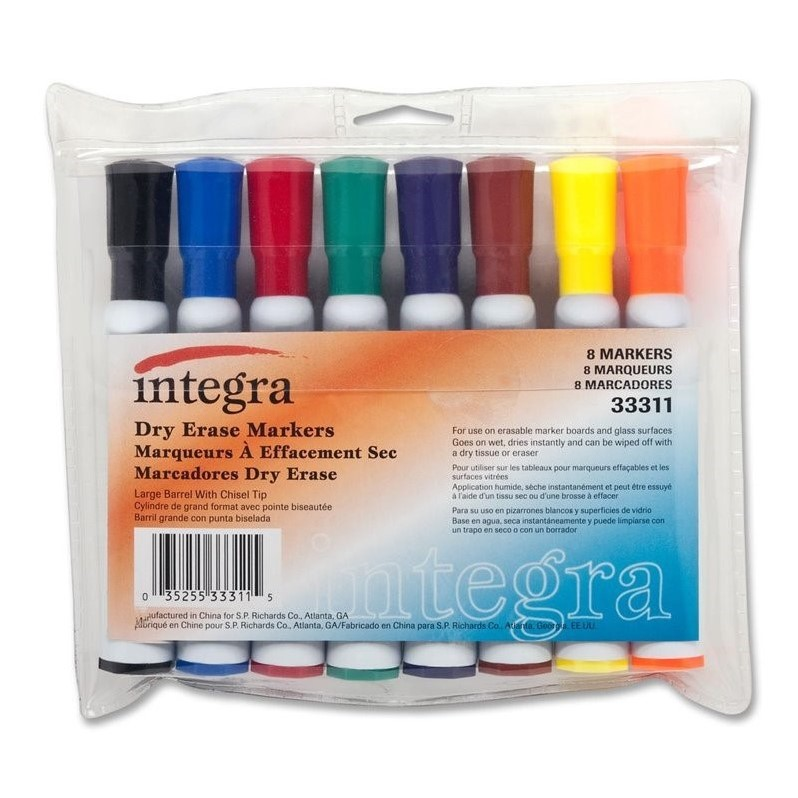 Integra Dry Erase Marker (Set of 8)