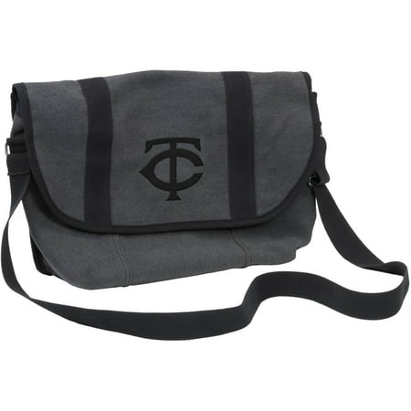 Logo MLB Minnesota Twins Varsity Messenger Bag by