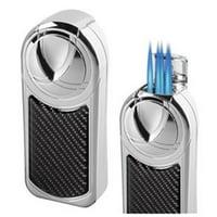 Dobrev V 5 Jet Flame Carbon Fiber Table Lighter