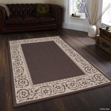 Chocolate Allstar Indoor Outdoor All Weather Rug With