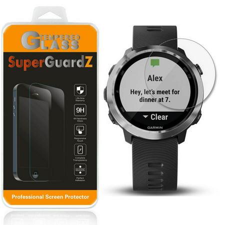 (For Garmin Forerunner 645 Music  - SuperGuardZ Tempered Glass Screen Protector [Anti-Scratch, Anti-Bubble] + 2 Stylus Pen)