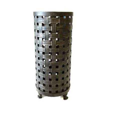 Umbrella Basket (Gabriella Traditional Basket Weave Metal Iron Umbrella)