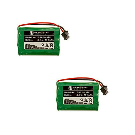 Rayovac RAYM182 Cordless Phone Battery Combo-Pack includes: 2 x SDCP-H328 (Rayovac Cordless Battery)