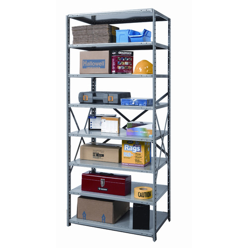 Hallowell Hi-Tech Heavy-Duty Open Type 7 Shelf Shelving Starter Uni
