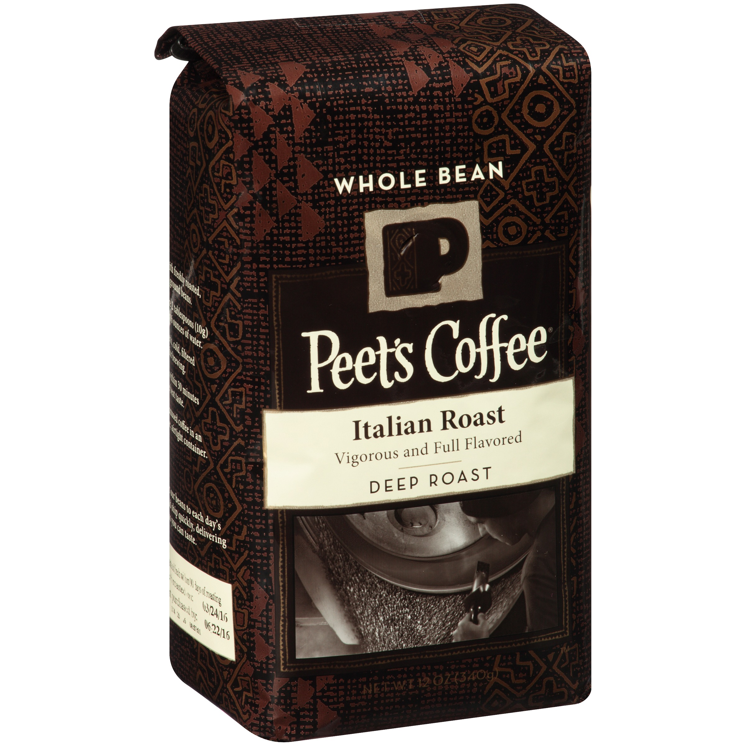Peet's Coffee French Roast Deep Roast Ground Coffee, 12.0 OZ