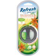 Refresh Your Car Dual Scent Oil Diffuser, Linen & Lily, Single Pack