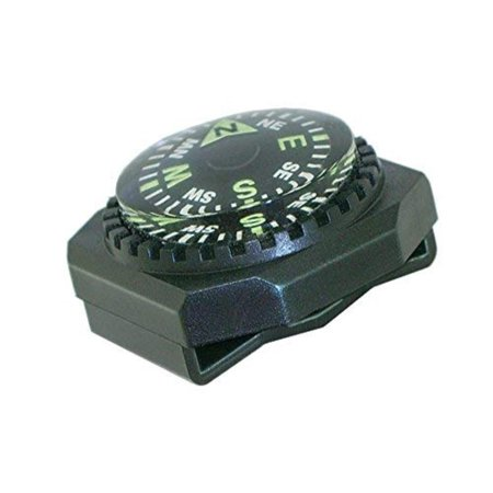 Slip-On Wrist Compass - Easy-to-Read Compass for Watch Band, PERFECT BACK-UP MAP COMPASS - Use GoCompass as a back up to your primary compass to ensure you.., By Sun