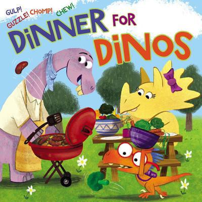 - Dinner for Dinos : Gulp, Guzzle, Chomp, Chew