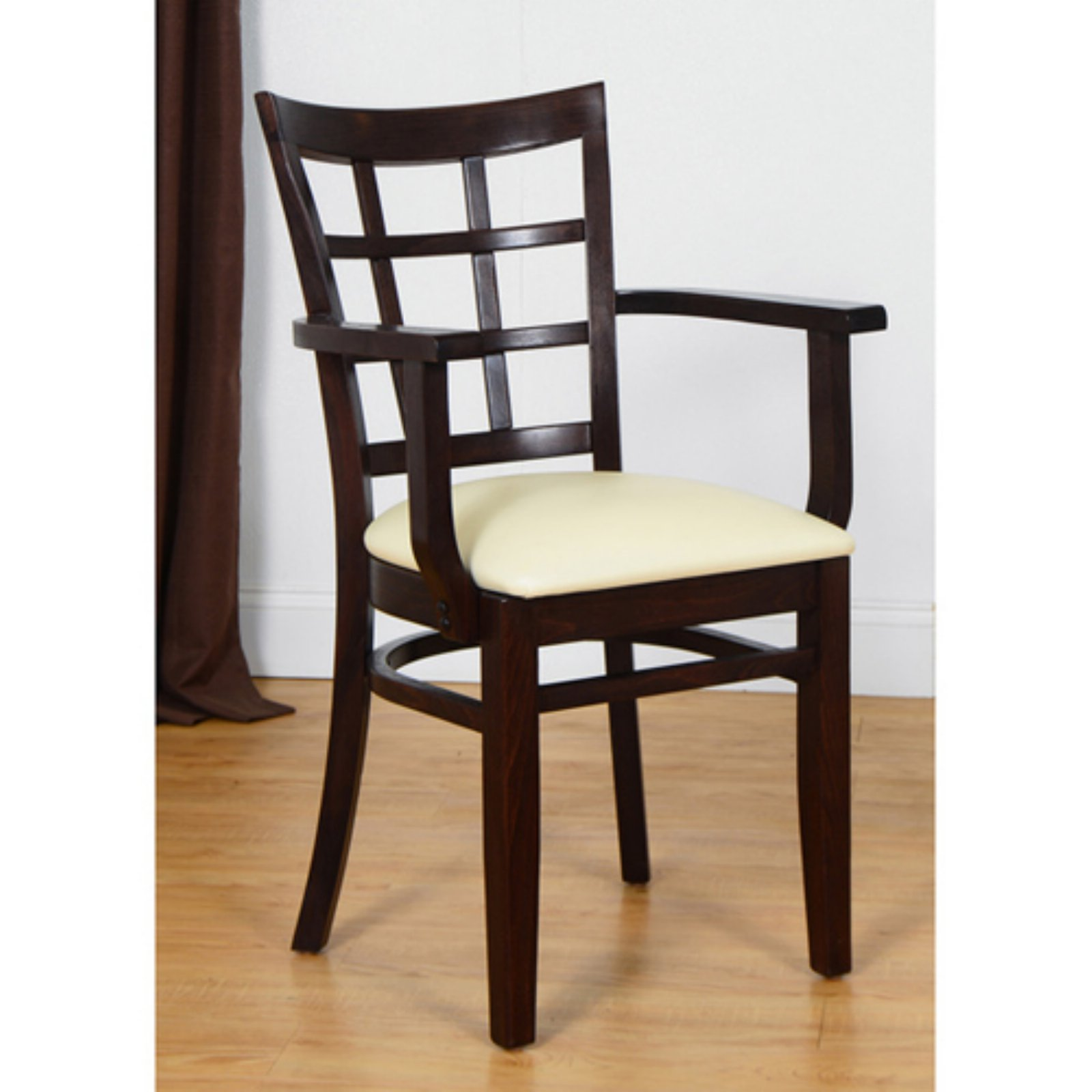 Safsil Seating Window Pane Dining Armchair by