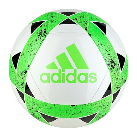 Adidas Starlancer V Youth Soccer Ball CZ9551 - White, Green,