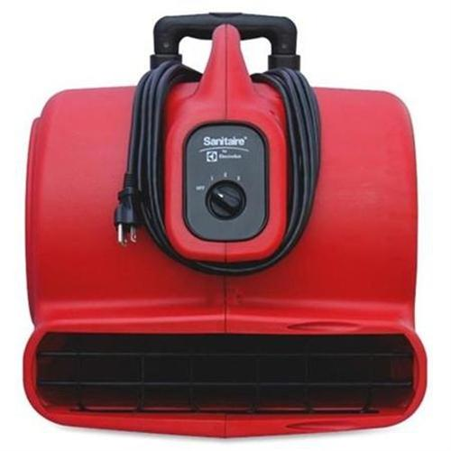 Electrolux Commercial Three-Speed Air Mover with Built-on Dolly, 5 amp, Red, 25 ft Cord SC6054