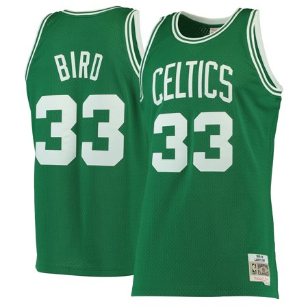 Larry Bird Boston Celtics Mitchell & Ness 1985-86 Hardwood Classics Swingman Jersey - Kelly Green