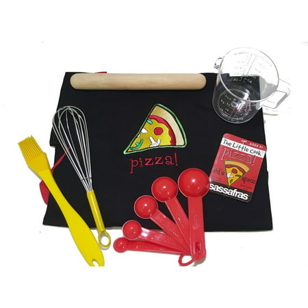 Sassafras Fun Baking Pizza Making Tool Set for Kids