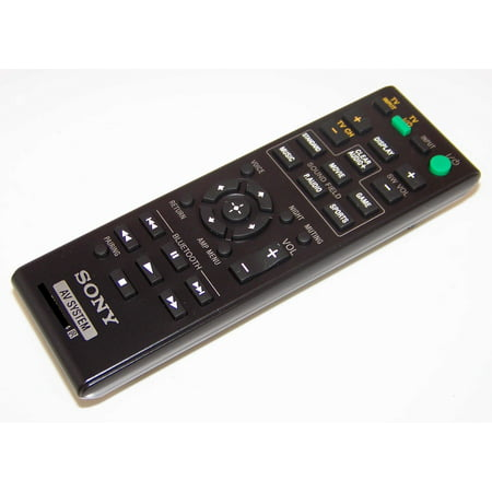 OEM Sony Remote Control Originally Shipped With: SA-CT770, SACT770, SA-CT370, SACT370