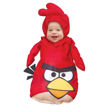 Angry Birds Infant Boys & Girls Red Bird Bunting - Angry Birds Costumes