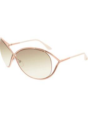 """Tom Ford Women's """"Miranda"""" Oversized Sunglasses FT0130"""