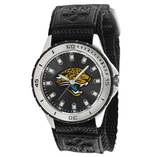 "Jacksonville Jaguars NFL Mens ""Veteran Series"" Watch"