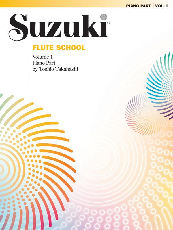 Suzuki Flute School, Volume 1 : Piano Part by Alfred Music