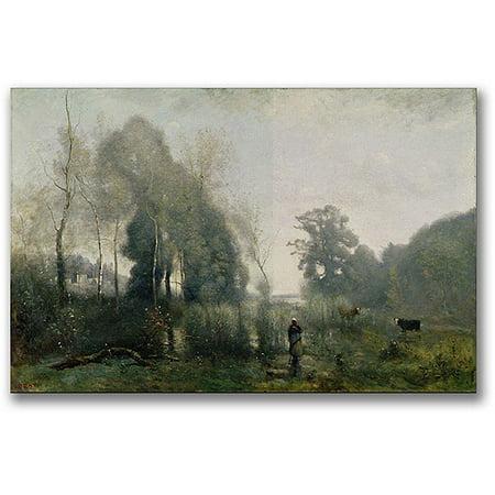 Canvas Jean (Trademark Fine Art