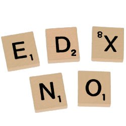Scrabble Standard Wood Tiles  Set Of 100